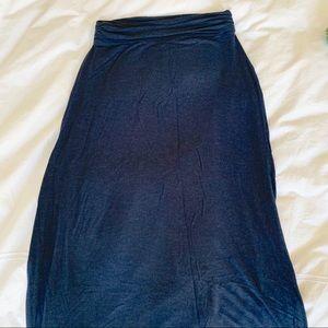 J Crew Soft Knit Maxi Skirt